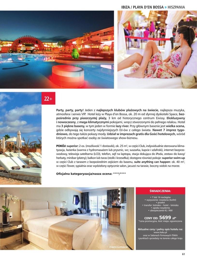 Gazetka: Hotele dla dorosłych - strona 63