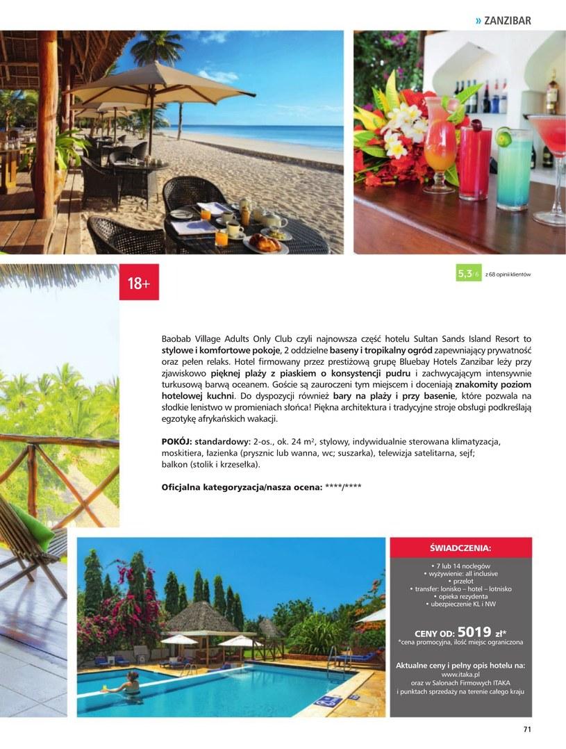 Gazetka: Hotele dla dorosłych - strona 73