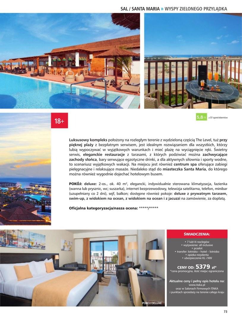 Gazetka: Hotele dla dorosłych - strona 75