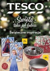Gazetka promocyjna Tesco Centra Handlowe - Świąteczne inspiracje  - ważna do 24-12-2019