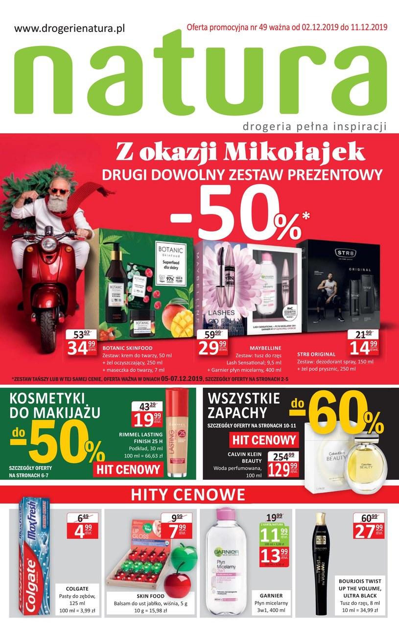 Gazetka promocyjna Drogerie Natura - ważna od 02. 12. 2019 do 11. 12. 2019