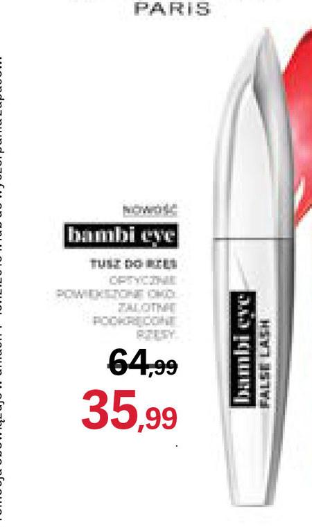 Tusz do rzęs Bambi eye