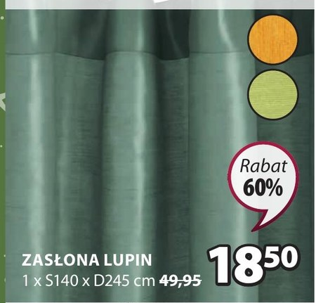 Zasłona Lupin