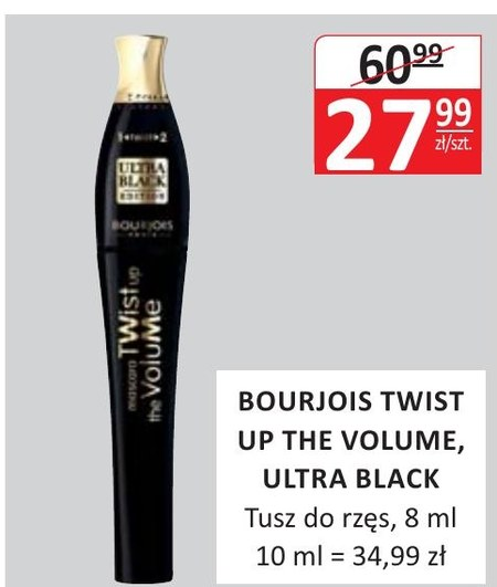 Tusz do rzęs Bourjois