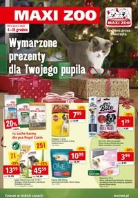 Gazetka promocyjna Maxi ZOO - Wymarzone prezenty dla Twojego pupila - ważna do 10-12-2019