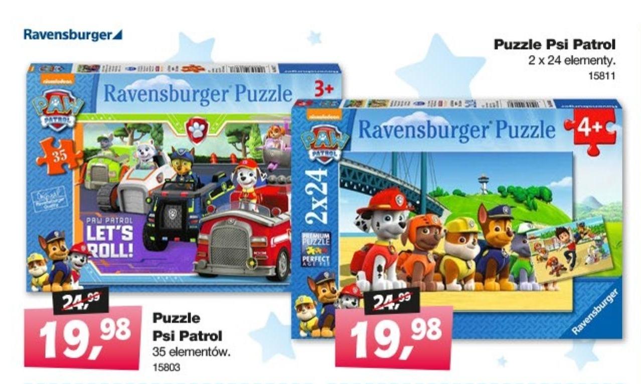 Puzzle Psi Patrol  niska cena