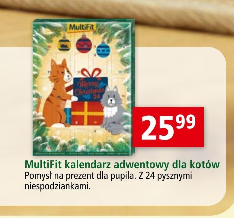 Kalendarz adwentowy dla kota MultiFit niska cena