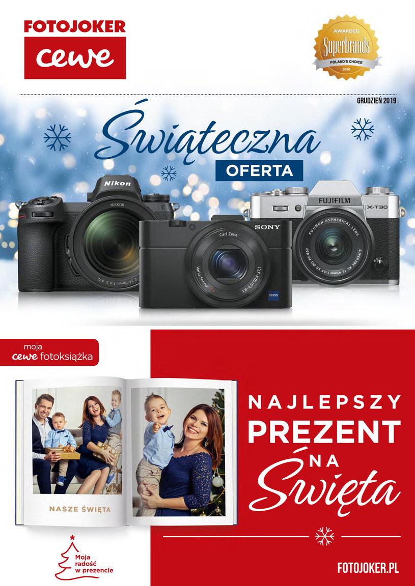 Gazetka promocyjna Fotojoker - ważna od 04. 12. 2019 do 31. 12. 2019