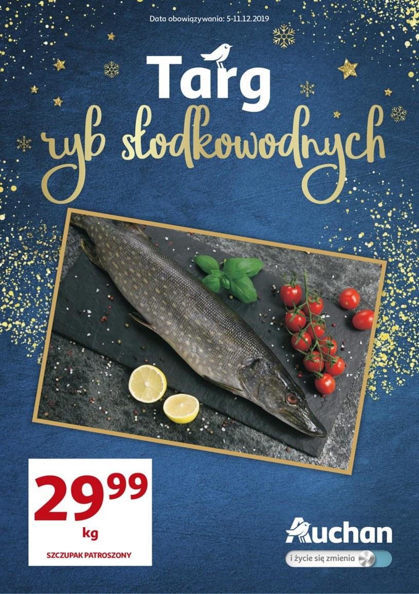 Gazetka promocyjna Auchan Hipermarket - ważna od 05. 12. 2019 do 11. 12. 2019