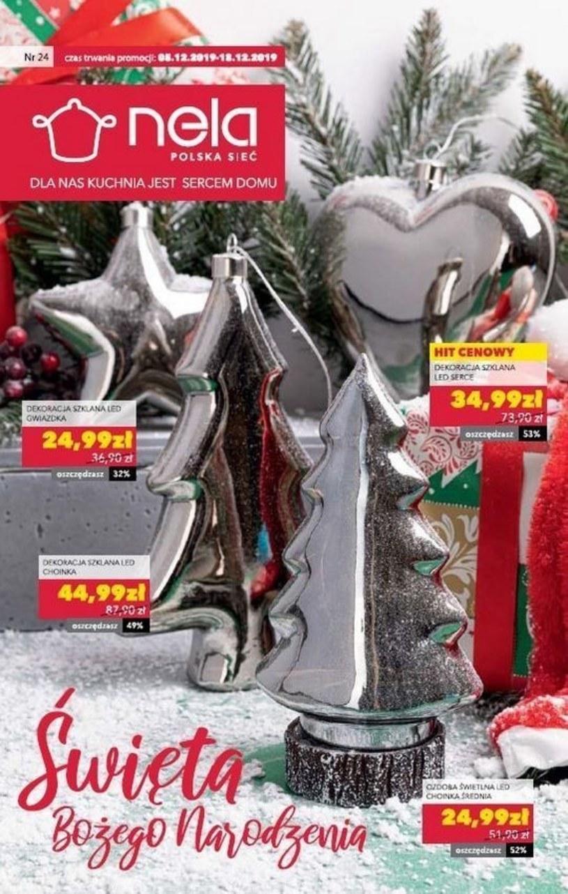 Gazetka promocyjna Nela - ważna od 05. 12. 2019 do 18. 12. 2019