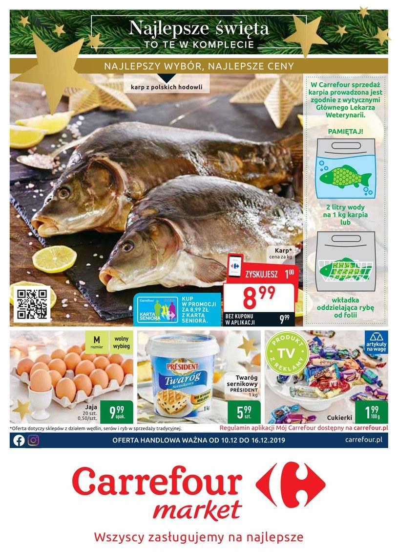 Gazetka promocyjna Carrefour Market - ważna od 10. 12. 2019 do 16. 12. 2019