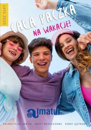 Gazetka promocyjna Almatur - Całą paczką na wakacje! Obozy 2020