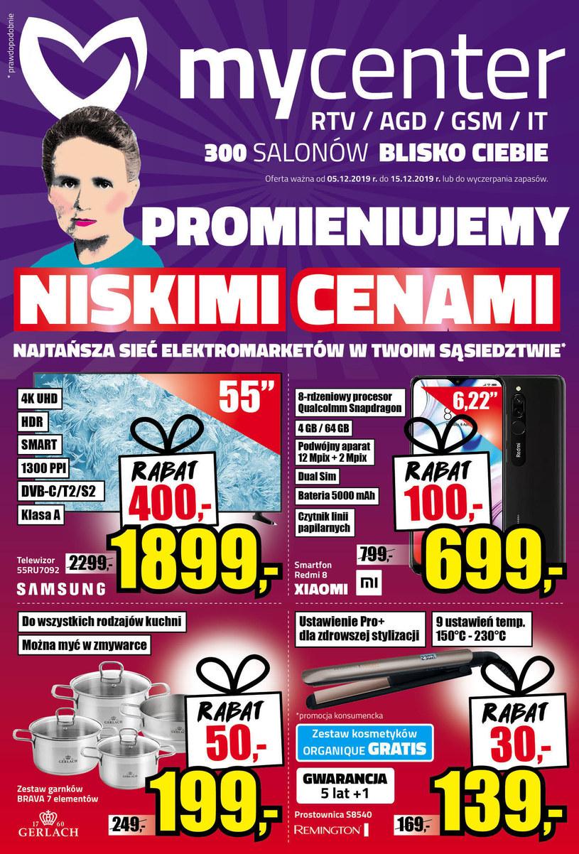 Gazetka promocyjna MyCenter - ważna od 05. 12. 2019 do 15. 12. 2019
