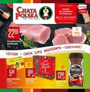 Super promocje w Chacie Polskiej!