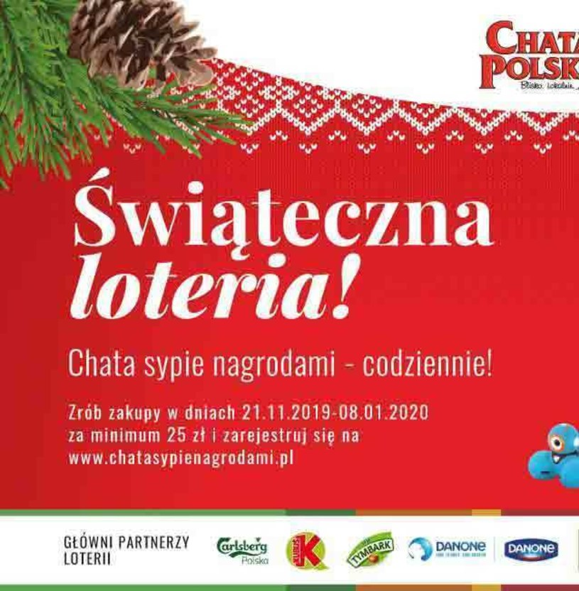 Gazetka promocyjna Chata Polska - ważna od 21. 11. 2019 do 08. 01. 2020