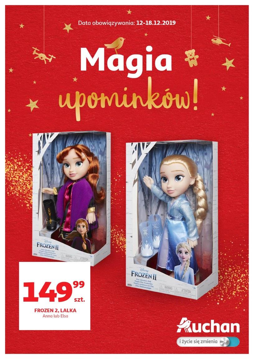 Gazetka promocyjna Auchan Hipermarket - ważna od 12. 12. 2019 do 18. 12. 2019