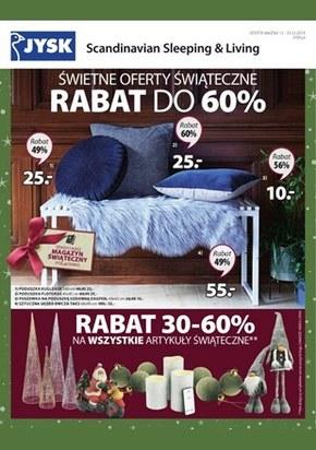 Świetne oferty świąteczne w Jysk!