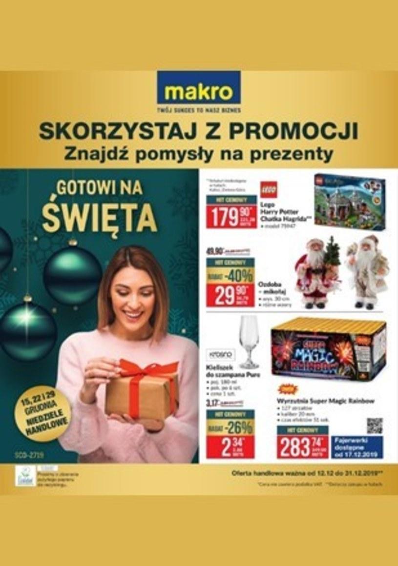 Gazetka promocyjna Makro Cash&Carry - ważna od 12. 12. 2019 do 31. 12. 2019