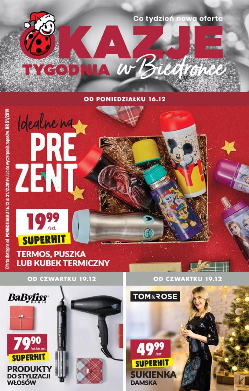 Gazetka promocyjna Biedronka - ważna od 16. 12. 2019 do 31. 12. 2019