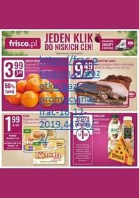 Gazetka promocyjna Frisco - Jeden klik do niskich cen w Frisco! - ważna do 24-12-2019