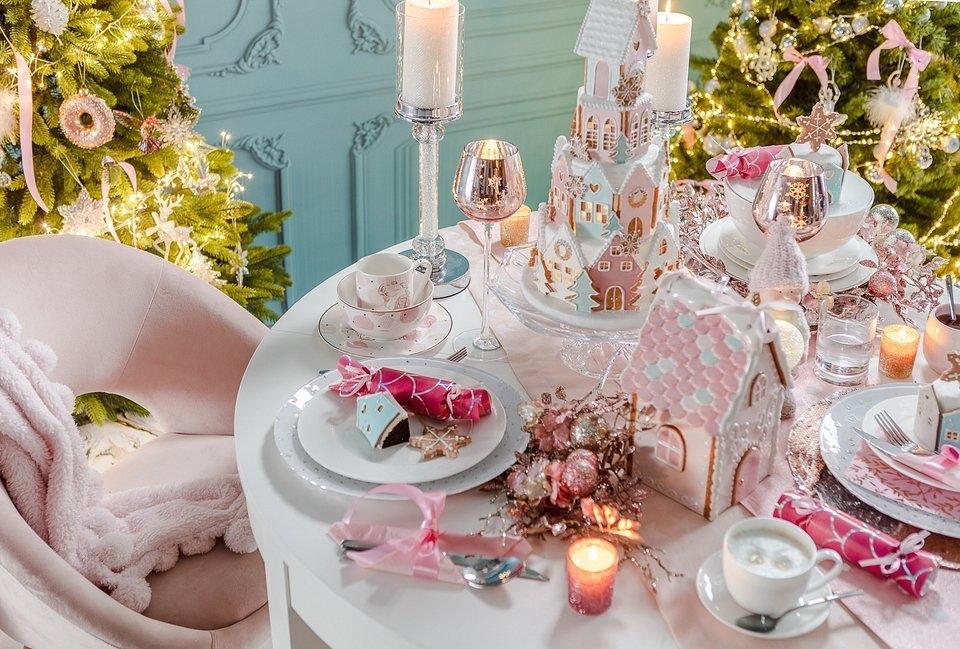 ozdoba stołu świątecznego