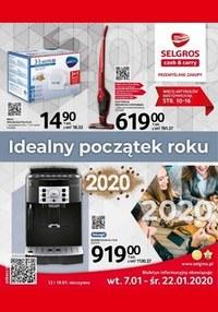 Gazetka promocyjna Selgros Cash&Carry - Idealny początek roku z Selgros - ważna do 22-01-2020