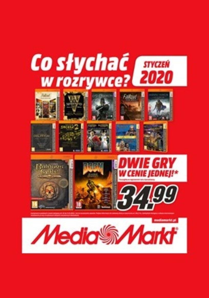 Gazetka promocyjna Media Markt - ważna od 01. 01. 2020 do 31. 01. 2020