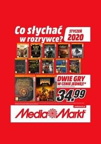 Gazetka promocyjna Media Markt - Co słychać w rozrywce? - ważna do 31-01-2020