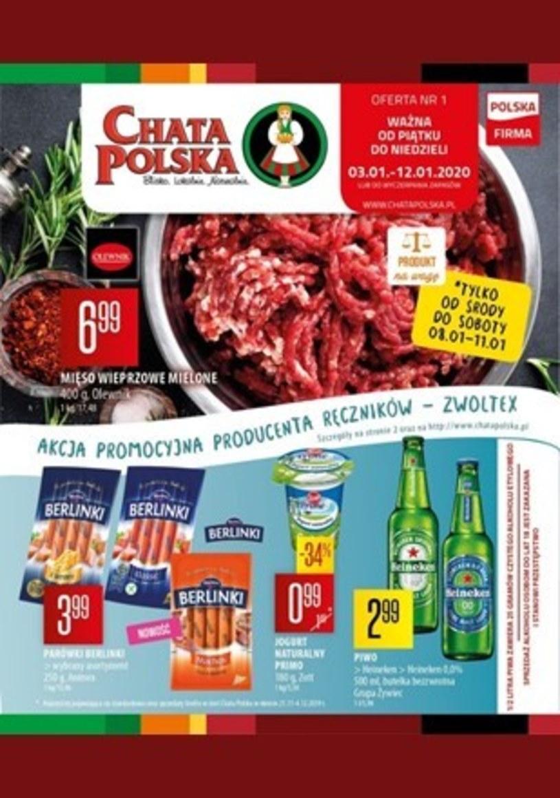 Gazetka promocyjna Chata Polska - wygasła 9 dni temu