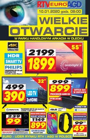 Wielkie otwarcie RTV euro AGD w Oleck