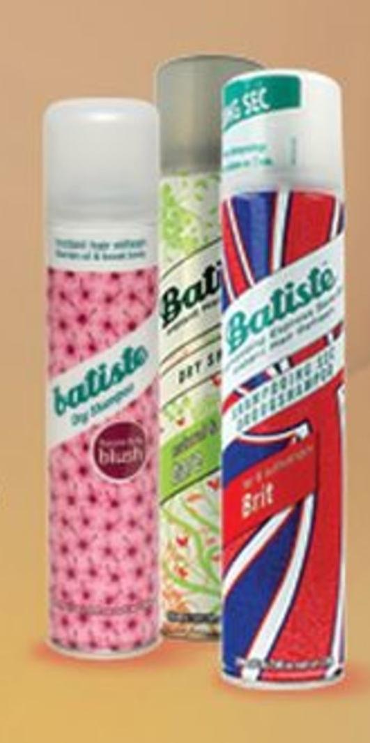 Suchy szampon Batiste niska cena