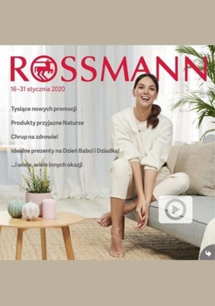 Gazetka promocyjna Rossmann - ważna od 16. 01. 2001 do 31. 01. 2020