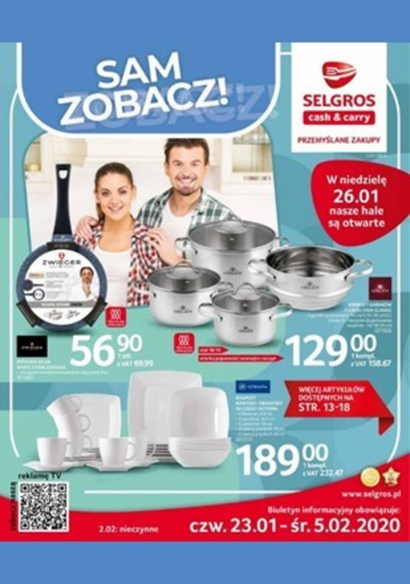 Selgros Cash&Carry: 1 gazetka