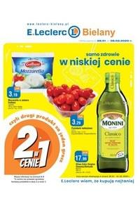 Gazetka promocyjna E.Leclerc - Samo zdrowie w niskiej cenie w E.Leclerc Bielany - ważna do 08-02-2020