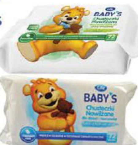 Chusteczki dla niemowląt Life Baby's