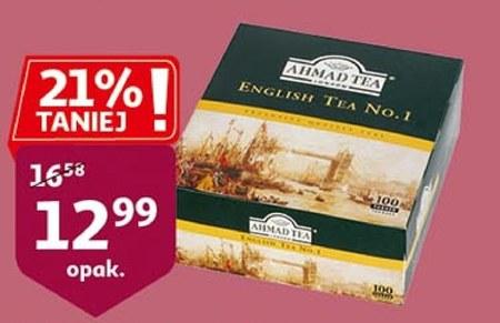 Herbata czarna Ahmad tea