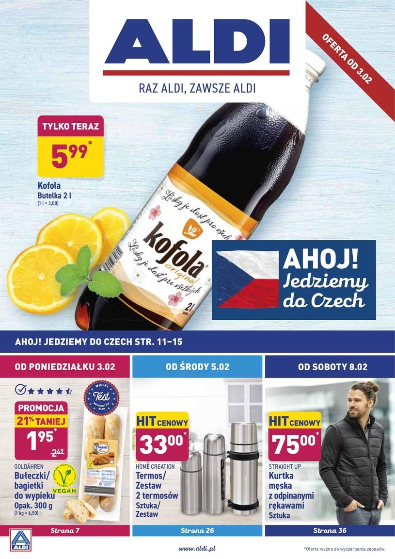 Gazetka promocyjna Aldi - ważna od 03. 02. 2020 do 08. 02. 2020