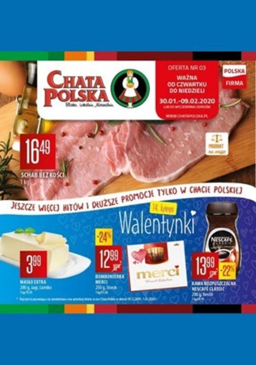 Gazetka promocyjna Chata Polska - wygasła 10 dni temu