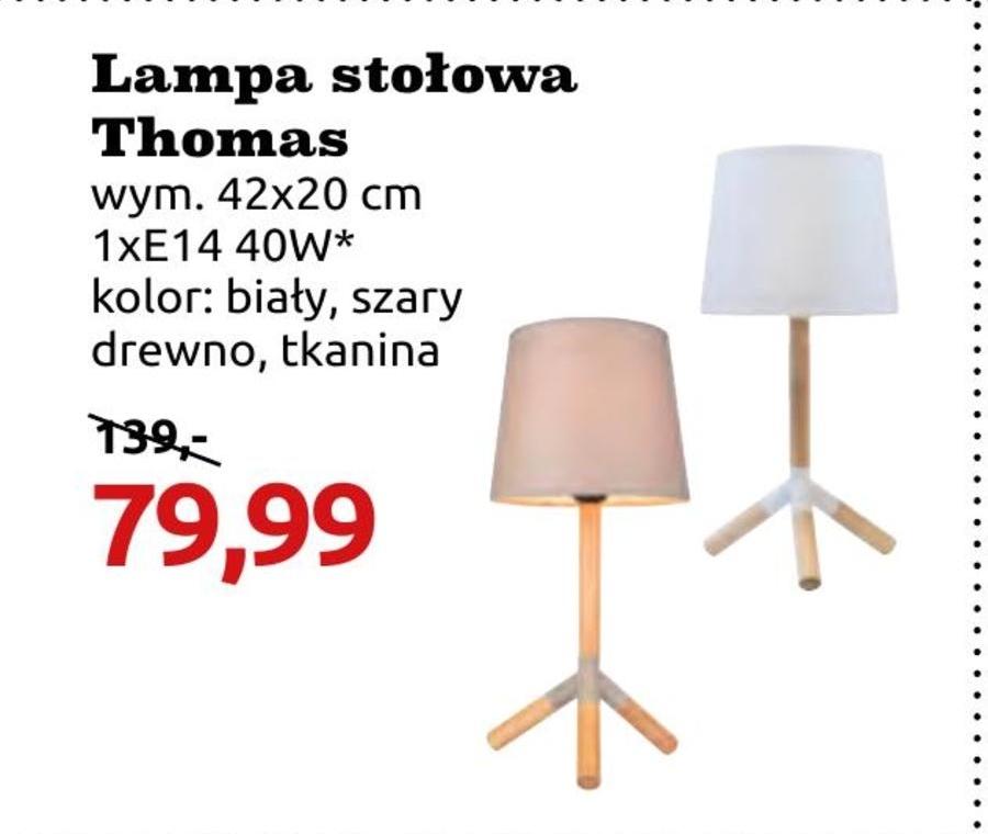Lampka stołowa Thomas niska cena