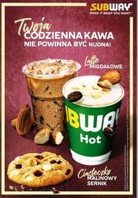 Gazetka promocyjna Subway - Twoja codzienna kawa nie powinna być nudna! - ważna do 29-02-2020