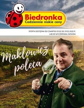 Biedronka - Makłowicz poleca