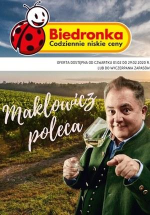 Gazetka promocyjna Biedronka - Biedronka - Makłowicz poleca