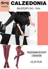 Gazetka promocyjna Calzedonia - Rajstopy w Calzedonia 70% taniej!  - ważna do 23-02-2020