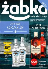 Gazetka promocyjna Żabka - Zimowe okazje w Żabce - ważna do 10-03-2020