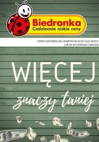 Gazetka promocyjna Biedronka - Więcej znaczy taniej w Biedronce!  - ważna do 12-02-2020