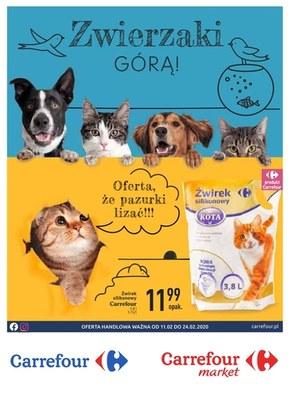 Zwierzaki górą w Carrefour