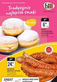Gazetka promocyjna bi1 - Tradycyjne najlepsze smaki w Bi1! - ważna do 18-02-2020