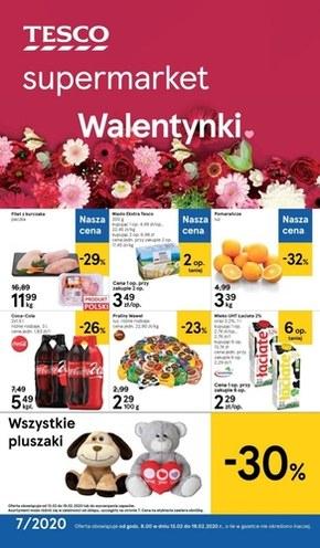 Promocje walentynkowe w Tesco Supermarket!