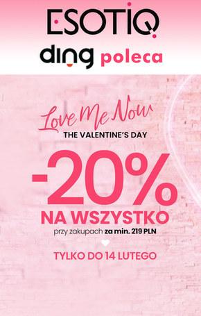 Walentynkowe promocje w Esotiq
