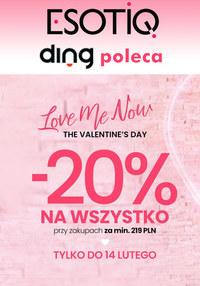 Gazetka promocyjna Esotiq - Walentynkowe promocje w Esotiq - ważna do 14-02-2020